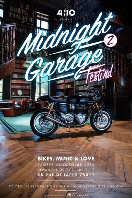 Midnight Garage Festival 2016 à Paris
