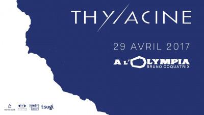 Thylacine en concert à l'Olympia de Paris en 2017