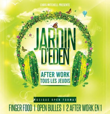 Afterwork Le Jardin d'Eden à Paris