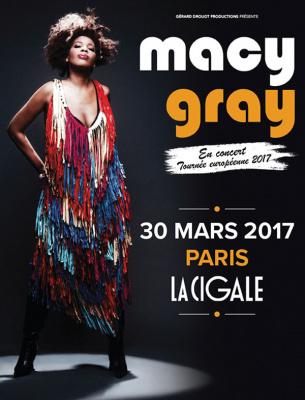 Macy Gray en concert à La Cigale de Paris en 2017
