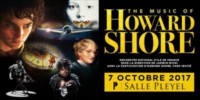 The Music Of Howard Shore à La Salle Pleyel de Paris en 2017