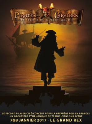 Pirates des Caraïbes 2 en ciné-concert au Grand Rex de Paris en 2017