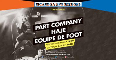 Ricard S.A Live Sessions revient au Café de la Danse