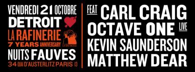 Detroit Love avec Carl Craig au Club Nuits Fauves