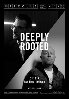 Deeply Rooted au Rex Club avec Ben Sims