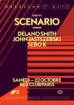 Sebo K's Scenario Night au Rex Club