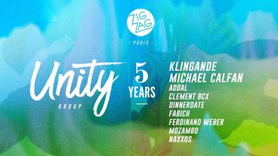 Unity Group 5 years au Zig Zag Club