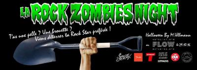 La Rock Zombies Night au Flow
