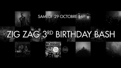 Zig Zag 3rd Birthday Bash