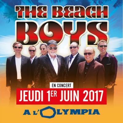 The Beach Boys en concert à l'Olympia de Paris en 2017