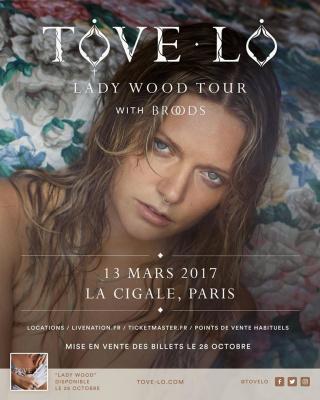 Tove Lo en concert à La Cigale de Paris en 2017