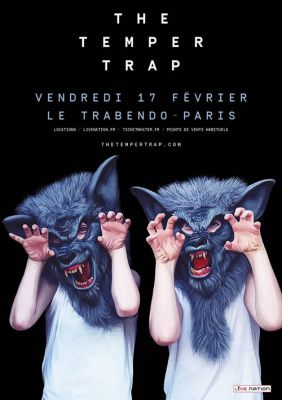 The Temper Trap en concert au Trabendo de Paris en 2017