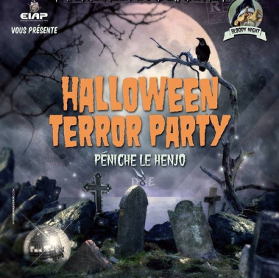 Halloween Party 2016 à la Péniche Henjo
