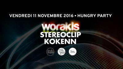 Zig Zag x Hungry Party #2 avec Worakls, Stereoclip & Kokenn