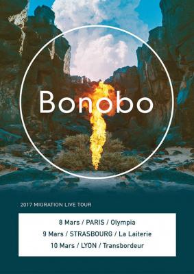 Bonobo en concert à l'Olympia de Paris en 2017