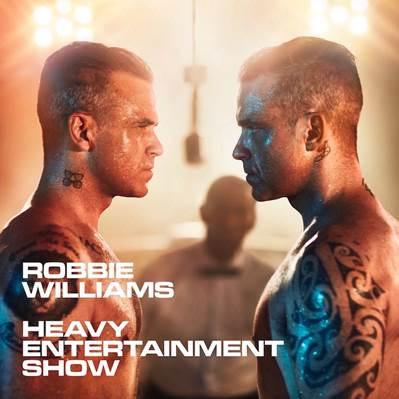 Robbie Williams en concert à l'AccorHotels Arena de Paris en 2017