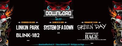 Download Festival Paris 2017 : Green Day à l'affiche