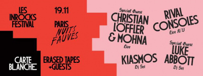 Les Inrocks Festival : Carte Blanche à Erased Tapes au Club Nuits Fauves