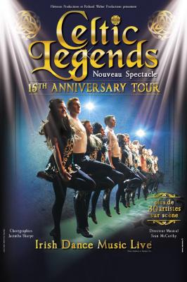 Celtic Legends, 15ème anniversaire, à l'Olympia de Paris en février 2017