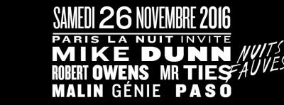 Paris La Nuit au Club Nuits Fauves avec Mike Dunn