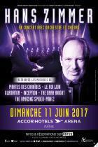 Hans Zimmer en concert à l'Arena Bercy de Paris en juin 2017