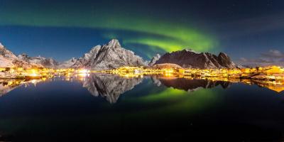 Exposition #NorwayLights à l'Espace Marais