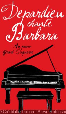 Depardieu Chante Barbara : le concert au Théâtre des Bouffes du Nord de Paris en 2017
