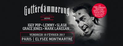 Gutterdämmerung : le ciné-concert à l'Elysée Montmartre de Paris en 2017