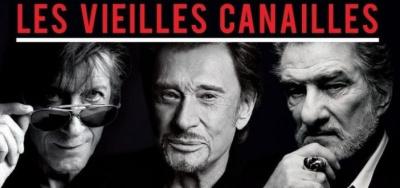 Les Vieilles Canailles en concert à l'Arena Bercy de Paris en 2017