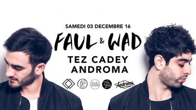 Faul & Wad et Androma au Zig Zag Club