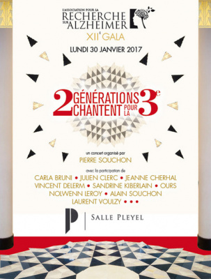 2 générations chantent pour la 3ème : concert à La Salle Pleyel de Paris