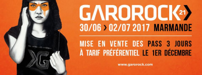 Garorock 2017 à Marmande : dates, programmation et réservations