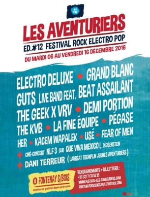 Festival Les Aventuriers 2016 à Fontenay Sous Bois : dates, programmation et réservations
