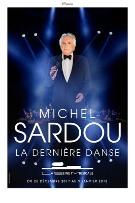 Michel Sardou en concerts à La Seine Musicale de Boulogne Billancourt en 2017 et 2018