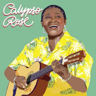 Calypso Rose en concert à l'Olympia de Paris en mai 2017
