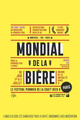 Le Mondial de la Bière débarque à Paris en 2017