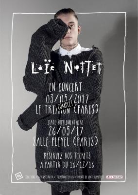 Loïc Nottet en concert à La Salle Pleyel de Paris en 2017