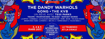 Paris International Festival of Psychedelic Music 2017 : dates, programmation et réservations