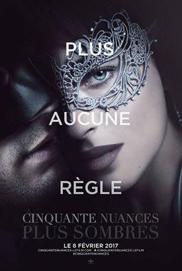 Soirée spéciale 50 Nuances Plus Sombres au Grand Rex de Paris en 2017