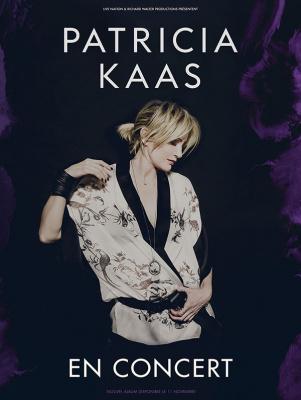 Patricia Kaas en concert au Grand Rex de Paris en mars 2017