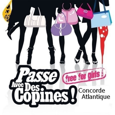 Passe avec des copines au Concorde