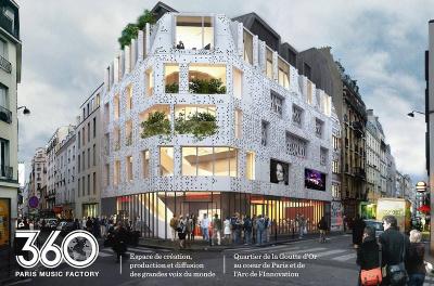Ouverture prochaine du 360 Paris Music Factory