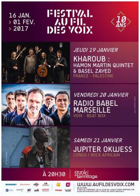 Festival Au Fil des Voix 2017 à Paris : dates, programmation et réservations