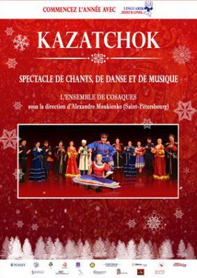 Nouvel an Russe 2017 : Kazatchok à Neuilly et Poissy