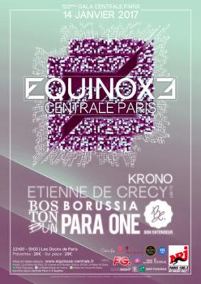 Equinoxe Centrale Paris 2017