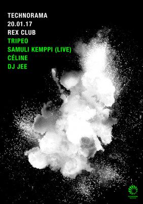 Technorama au Rex Club avec Samuli Kemppi