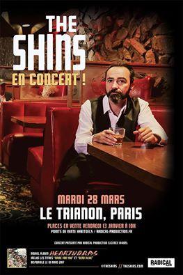 The Shins en concert au Trianon de Paris en mars 2017