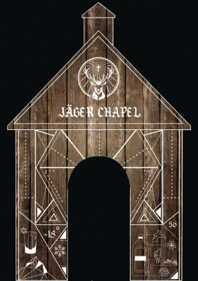 Saint Valentin 2017 à la Jäger Chapel du bar Le Grand Rivage