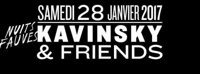 Kavinsky & Friends au Club Nuits Fauves