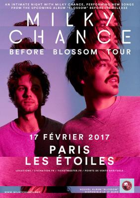 Milky Chance en concert aux Etoiles de Paris